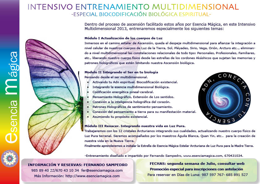 FOLLETO intensivo multidimensional